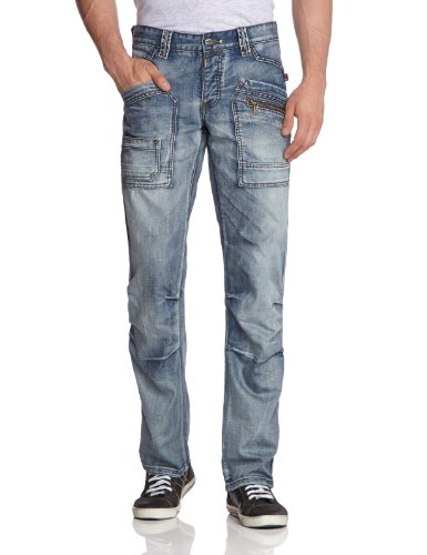 Timezone - 26-5255Clay 3212 Cool Wash - Jean - Homme Bleu (3212 Cool Wash))