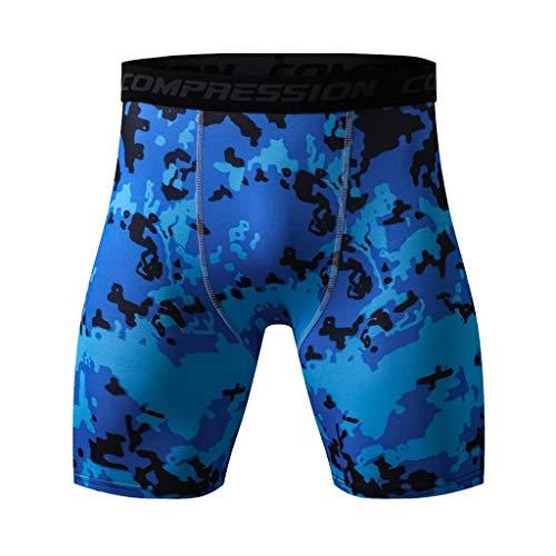 Mode Maillot de Bain Short Pantalon de Travail Cargo Jogging Homme Sport Grande Taille ado Bleu