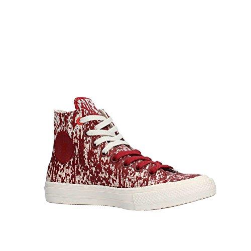 Converse Damen Chuck Taylor All Star II High Sneaker Top Red Block/Buff