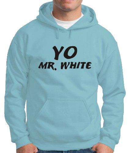 Touchlines Herren Kapuzen Pullover Yo Mr. White Hooded Sweatshirt, skyblue, L, B140313KS Preisvergleich