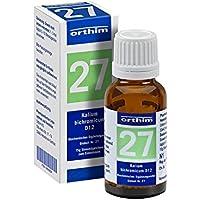 BIOCHEMIE Globuli 27 Kalium bichromicum D 12 15 g Globuli preisvergleich bei billige-tabletten.eu