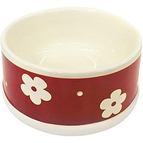 Croci ciotola di ceramica fiori,