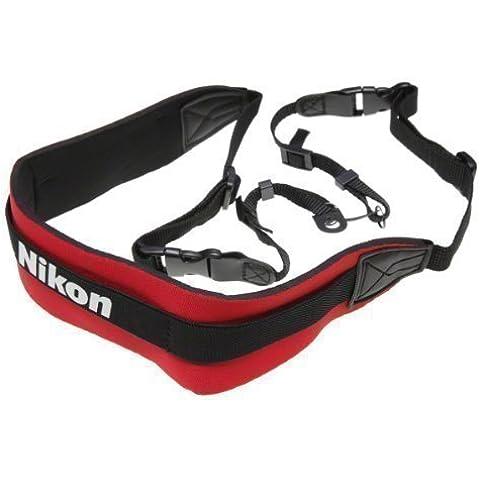 Pixel Peeper Nikon - Correa bandolera para cámara réflex, neopreno, diseño de Nikon