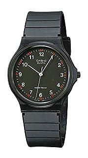 Casio Collection Unisex Adults Watch MQ-24-1BLLGF (B000NLTZZC) | Amazon price tracker / tracking, Amazon price history charts, Amazon price watches, Amazon price drop alerts
