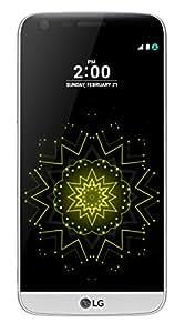 """LG G5 Smartphone da 32 GB, 5.3"""" QHD, 4G LTE, Fotocamera da 16 MP e 8 MP, 4 GB RAM, Argento [Italia]"""