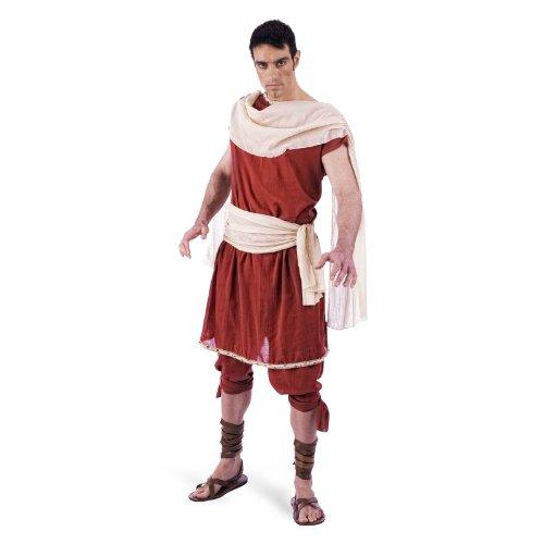 Gott Kostüm Ein - Griechischer Gott Herren Kostüm 2tlg Tunika u Hose für Fasching Karneval Gr. XXL