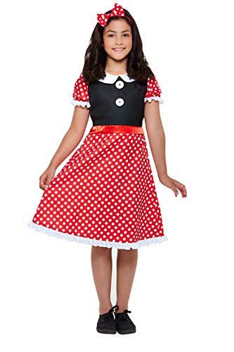 Smiffys 47767L - Disfraz de ratón para niña