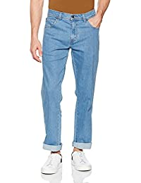 Wrangler Regular Fit Str Lightstone, Jeans Homme, Bleu