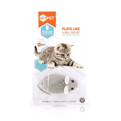 HEXBUG 503502 – Mouse Cat Toy grau, Elektronisches Spielzeug - 2