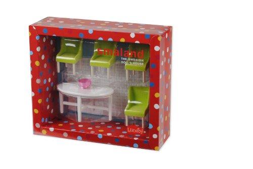 Lundby 60.2054.00 Smaland - Sala da pranzo per casa delle bambole