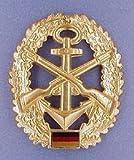 ABL BW Barettabzeichen Bundeswehr, Verschiedene Truppengattungen Farbe Marinesicherung