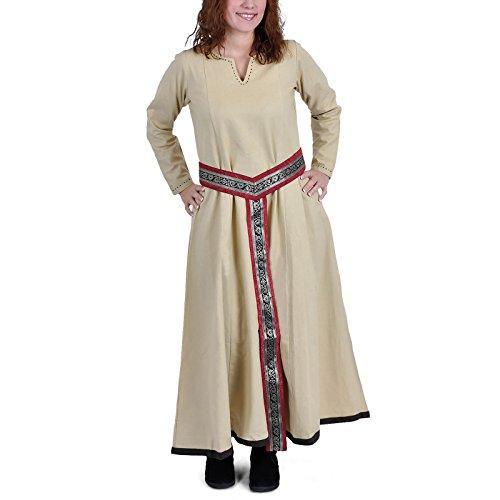 Robe basic beige moyen Beige - Beige
