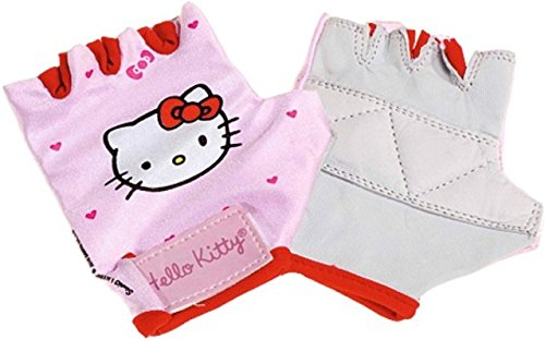 BIKE FASHION 816061 4   GUANTES DE BICICLETA HELLO KITTY (TALLA UNICA) IMPORTADO DE ALEMANIA
