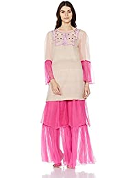 Rina Dhaka Layered Kurta with Pallazos
