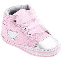 Kingko® bambino ragazza scarpe di tela di bambino pattini dei antiscivolo morbida suola scarpe bambino della scarpa da tennis