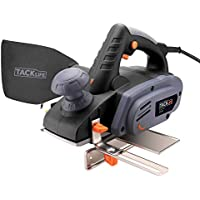 """TACKLIFE Planer, Electric Power Plane 900W, with 82mm (3¼"""") Planing Width, with 3 mm (1/8"""") Max Cut, Maximum Rebate Depth 15mm,Parallel Guide and Dust Bag 