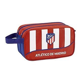 41ooQ6 rwqL. SS324  - Atlético de Madrid Club de fútbol Neceser, Bolsa de Aseo Adaptable a Carro.
