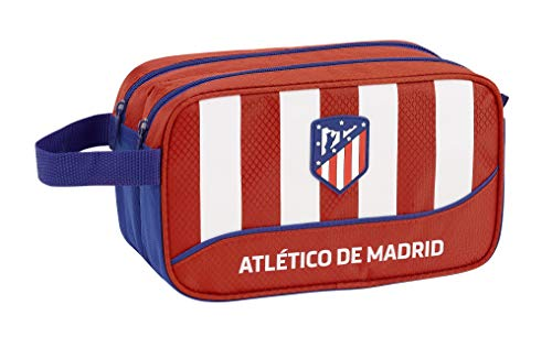 Atletico De Madrid 2018 Trousse Toilette, 26 cm, Rouge (Rojo)