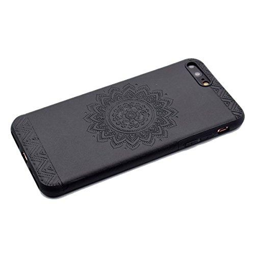 """inShang Hülle für iPhone 6 Plus iPhone 6S Plus 5.5"""" , Ultra Schlank und leicht TPU Bequem Schutzhülle Rückcover (Back Case) design für Handy iPhone 6+ iPhone 6S+ 5.5 inch, Black printing"""