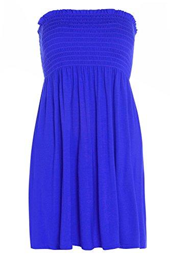 Glossy Look - Canotta - Basic - Senza maniche  -  donna Royal Blue