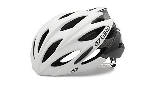 Giro Unisex Fahrradhelm Savant, Matt White/Black, 55 - 59 cm, 7055026