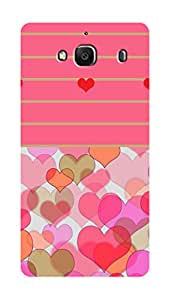 SWAG my CASE PRINTED BACK COVER FOR XIAOMI REDMI 2S Multicolor