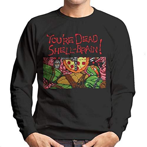 Cloud City 7 Youre Dead Shell Brain Ninja Gaiden Turtles Men's Sweatshirt