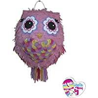 Piñata Buho. 3D. (Palo opcional)