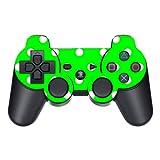 Disagu Design Skin für Sony PS3 Controller - Motiv Grün Weiß gepunktet