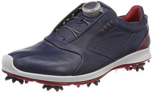 Ecco Mens Biom G 2 Boa GTX, Chaussures de Golf Homme, Bleu (True Navy/Brick 59057), 42 EU