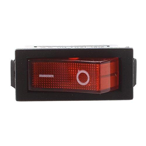 SODIALR AC 16A / 250V 20A / 125V Luz Roja Iluminado