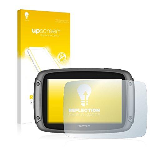 upscreen Entspiegelungs-Schutzfolie kompatibel mit Tomtom Rider 500/550 - Anti-Reflex Bildschirmschutz-Folie Matt