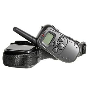 Keedox® Collier de dressage pour 2 chiens 300 M Rechargeable, Etanche avec Ecran LCD et Intensitée réglable