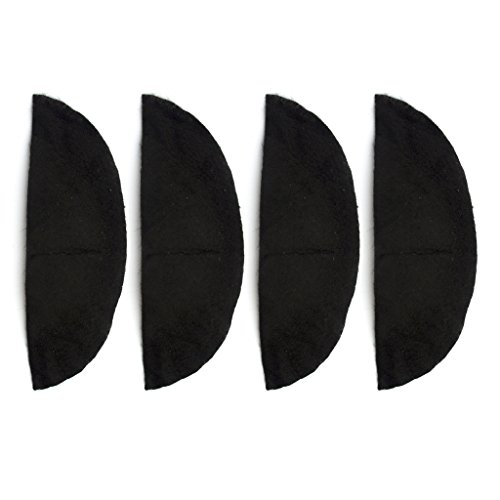 Schwarz Schmale Breite Schulterpolster Schultern zu den perfekten Look gestalten - 2 Paar