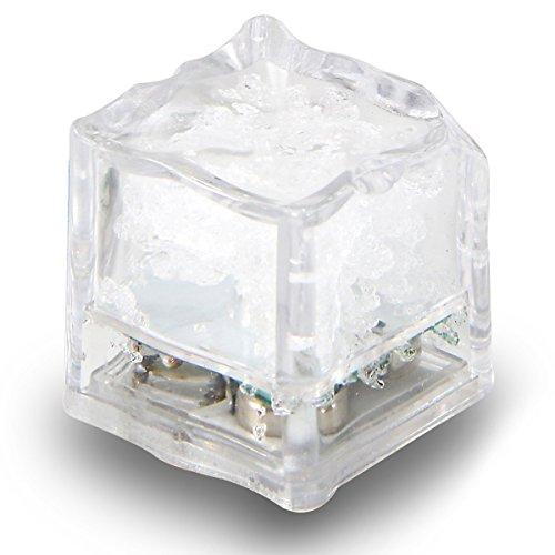 Cube,Bunt LED Eiswürfel Dekoration Licht für Hochzeit,Party ()