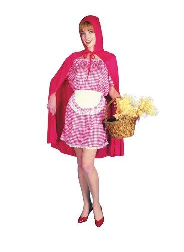 (Wenig Rot Reiten Haube- Kostüm für Erwachsene)