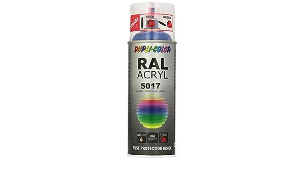 Dupli Color 541780 Ral Acryl Spray 5017 400 Ml Verkehrsblau Glanz Auto