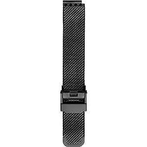 BERING Unisex Erwachsene Edelstahl Uhrenarmband PT-15531-BMBX