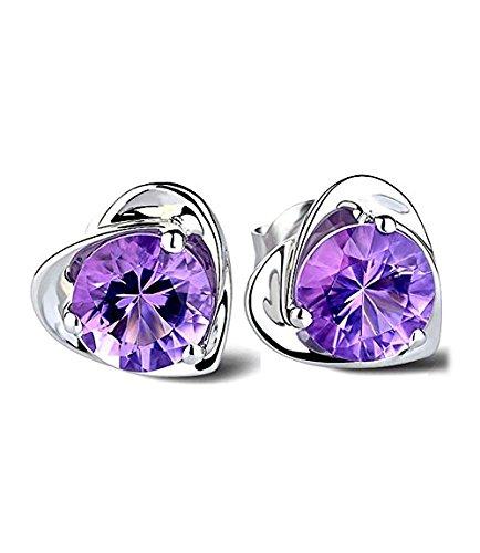 lily-jewelry-silver-plated-crystal-modern-purple-heart-amethyst-stud-christmas-earrings-for-women
