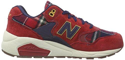 New Balance WRT580, basket femme Rouge (Red)