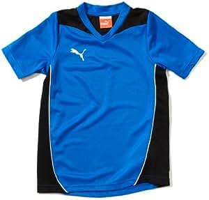 PUMA Foundation Boys' T-Shirt blue puma royal-black Size:128