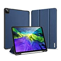 XINKOE Case For Apple ipad Pro 11(2020),Premium Quality PU Multifunctional design Leather Case Slim Flip Shell Case for Apple ipad Pro 11(2020)-Blue