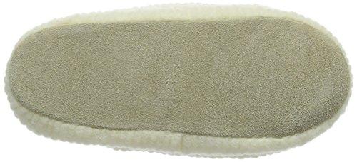 Woolsies Waffle Natural Wool Mule, Chaussons femme Beige - Beige (crème)