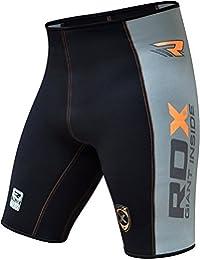 RDX Homme Short De Compression Cuissard Jogging Thermique Course à Pied Base Layer Sudore