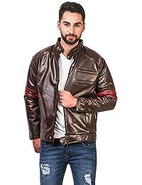 208804c55 Leather Men s Winterwear  Buy Leather Men s Winterwear online at ...