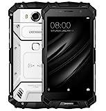DOOGEE S60 lite - 5,2 Zoll FHD Wasserdicht / Stoßfest / Staubdicht 4G Smartphone, 5580mAh Akku Schnelle Ladung (drahtlose Ladung unterstützt), 1,5 GHz Octa Core 4 GB + 32 GB, 8MP + 16MP, NFC GPS Metallrahmen - Silber