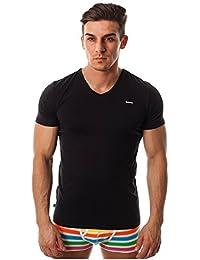 Diesel Herren V-Ausschnitt T-Shirt