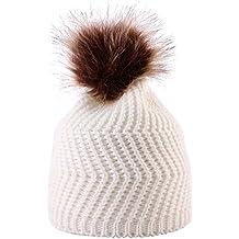 DEELIN Moda Bebé Tejer Mantener Sombreros De Sombrero Caliente con Bufanda Y Sombreros De Punto Lindo