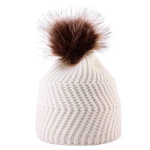 DEELIN Moda Bebé Tejer Mantener Sombreros De Sombrero Caliente con Bufanda  Y Sombreros De Punto Lindo de930904461