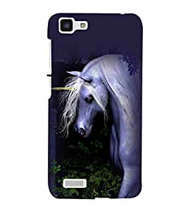 For vivo Y27 :: VivoY27L beautiful horse ( ) Printed Designer Back Case Cover By CHAPLOOS
